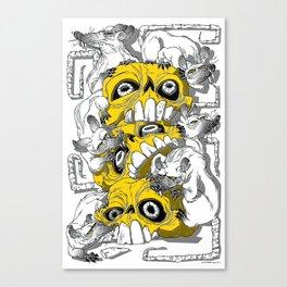 rat pile Canvas Print