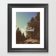 Big Bear, CA Framed Art Print