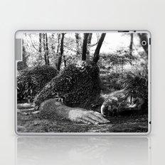 Heligan giant in monochrome Laptop & iPad Skin