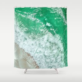 Emerald Sea Shower Curtain