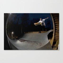 Bam Margera - Dusk Transfer Canvas Print