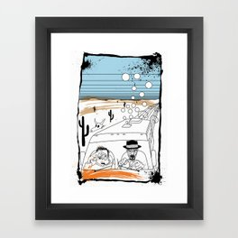 Fear and Loathing in Albuquerque II Framed Art Print