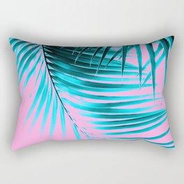 Palm Leaves Summer Vibes #3 #tropical #decor #art #society6 Rectangular Pillow