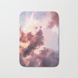 Mood Clouds Bath Mat