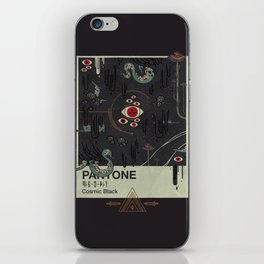 Cosmic Black iPhone Skin