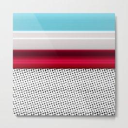 stripes 236 A Metal Print