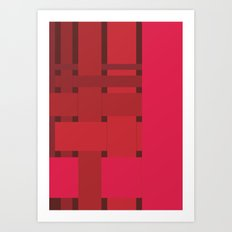neonred Art Print