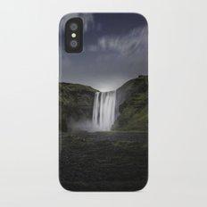 Skógafoss Waterfall Iceland Slim Case iPhone X