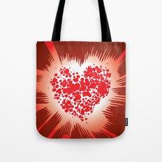 Energy Heart Tote Bag