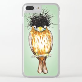 Brahminy starling Clear iPhone Case