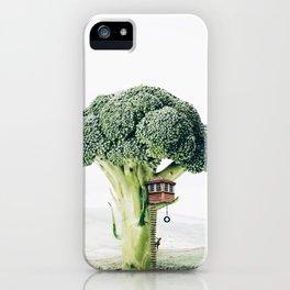 Broccoli House iPhone Case