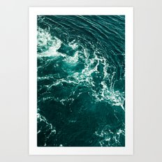 Voda Art Print