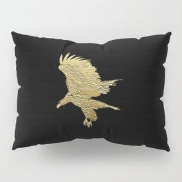 """Golden Boy"" Eagle Design Pillow Sham"