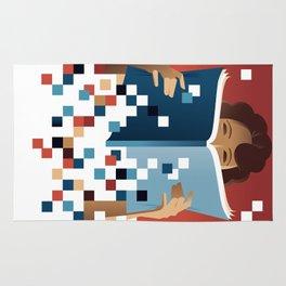 Print to Pixels Rug