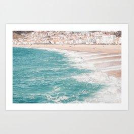 Beach Life (three) Art Print