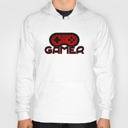 Red Gamer Hoody