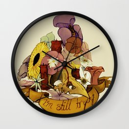 I'm An Accident But... Wall Clock