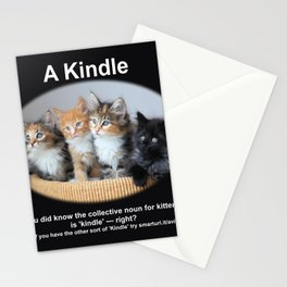 A Kindle of Kittens Stationery Cards