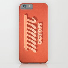 Octopi (PI) / Funny Nerd & Geek Humor (retro style) Slim Case iPhone 6s
