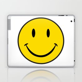 Smiley Happy Face Laptop & iPad Skin