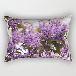Purple lilacs Rectangular Pillow