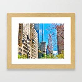 Chrysler Building, NYC (1) Framed Art Print
