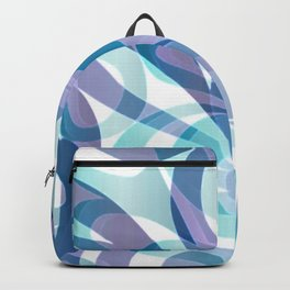 Floral abstract background G21 Backpack