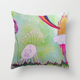 I Hate It When My Tarot Cards Are Upside Down Throw Pillow
