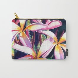 Sunny Day Plumerias Carry-All Pouch