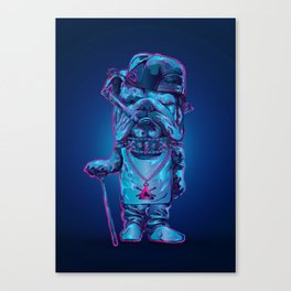 Whats up dawg Canvas Print