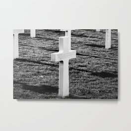An Unknown Soldier Metal Print