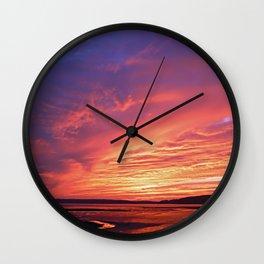 Colorful Skies Wall Clock