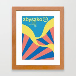 zbyszko single hop Framed Art Print