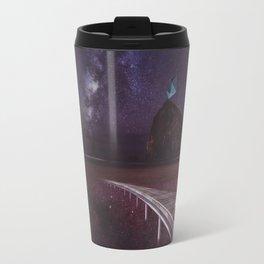 Kiss of love in space Travel Mug