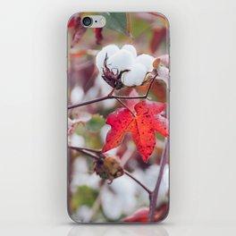 Cotton Field 22 iPhone Skin