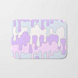 DRIPPY ((pink, purple, blue)) Bath Mat