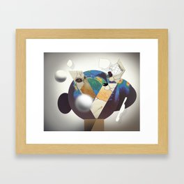 globes Framed Art Print