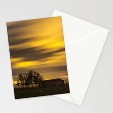 Night at the fields Stationery Cards