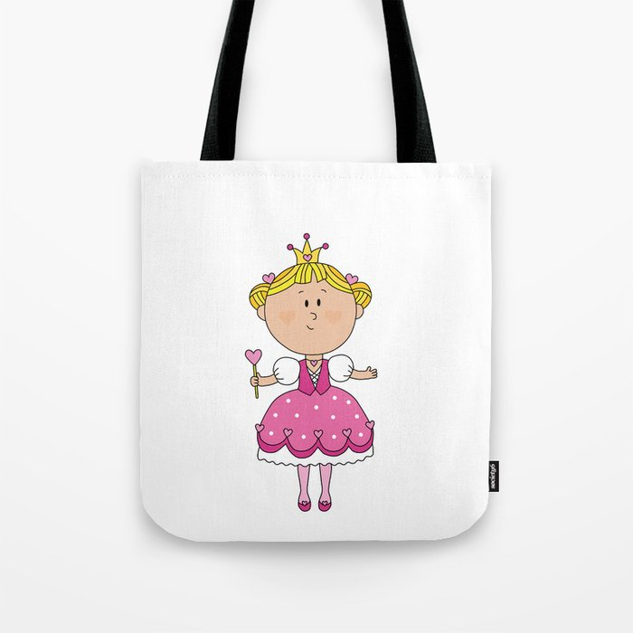 Pink Love Girl - Valentines Day Tote Bag