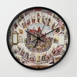 Vintage poster - Traveling Salesmen of America Wall Clock