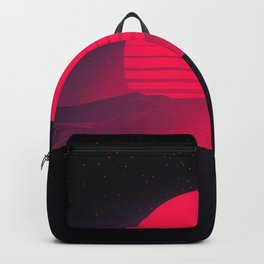 Synthwave Sunset Backpack