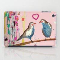 et iPad Cases featuring valentine et valentin by sylvie demers