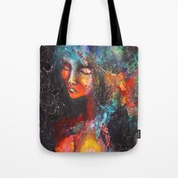 africa Tote Bags featuring Africa. by phuong (Ong Ngoc Phuong)