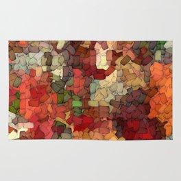 Autumn Inspired Torn Scraps 2492 Rug