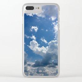 Head In The Clouds Clear iPhone Case