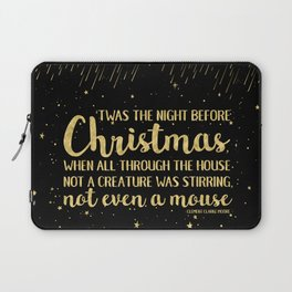 'Twas The Night Before Christmas Laptop Sleeve