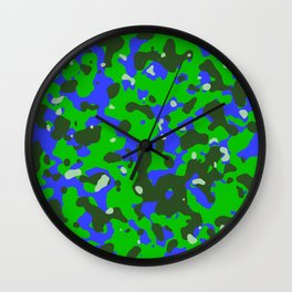 Abstract organic pattern 8 Wall Clock
