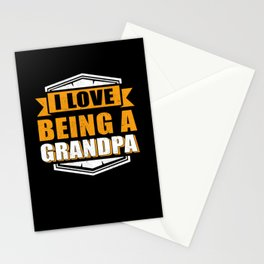 I Love Being A Grandpa | Gift Idea Stationery Cards