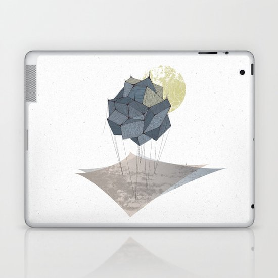 The Rock of Humanity Laptop & iPad Skin