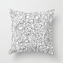 Amalgamation Throw Pillow